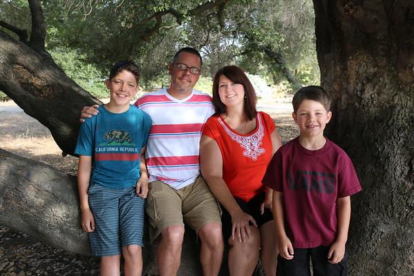 Greg Flory's family 2016