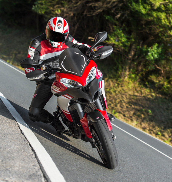 1/4: Launch of the updated Multistrada 1200 Pikes Peak Edition for 2013 - Ducati promotional action shots