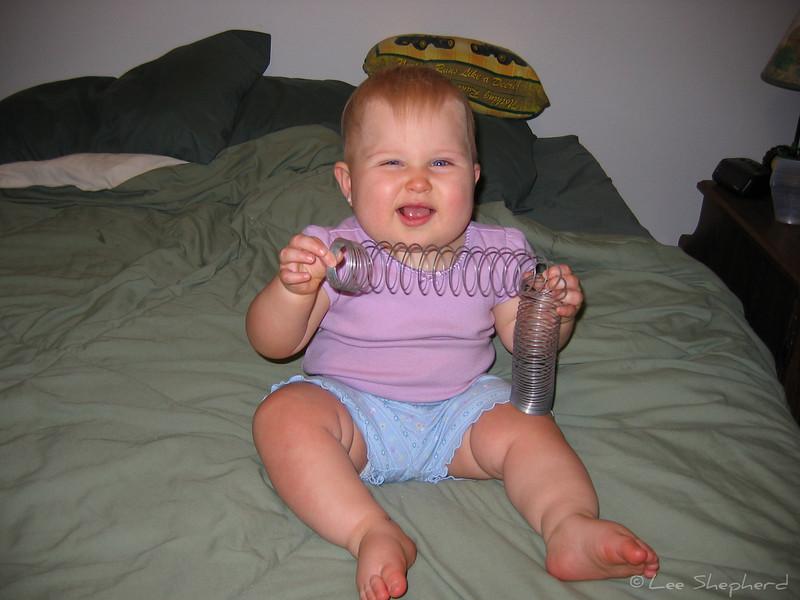"""""""It's Slinky, it's Slinky for fun it's a wonderful toy.  It's Slinky, it's Slinky it's fun for a girl and a boy"""""""