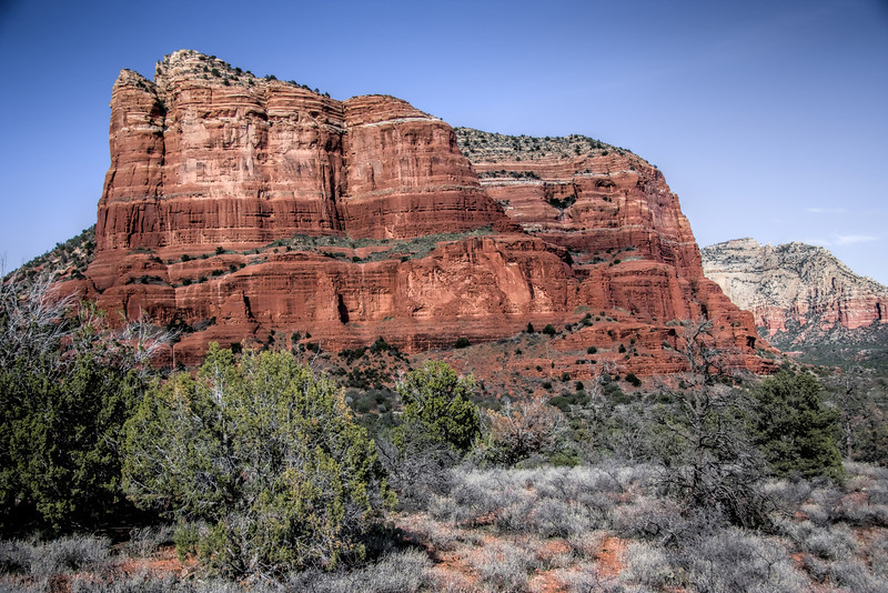 Courthouse Butte in Sedona, Arizona