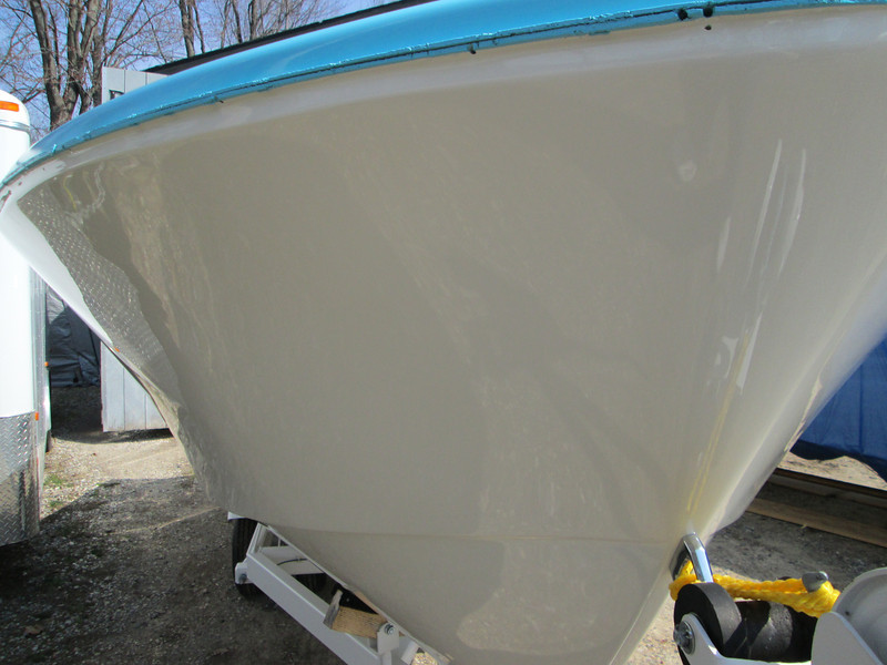 Front starboard side.