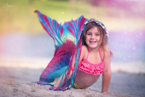 Charleigh Mermaid Shoot