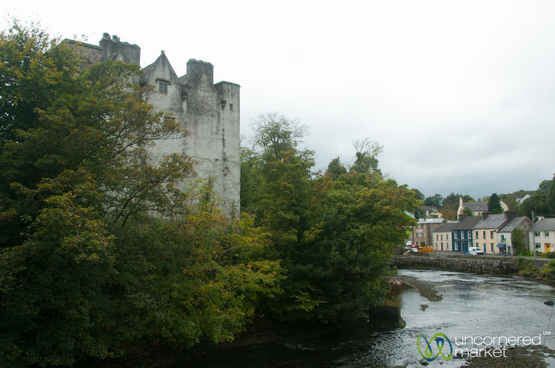 Donegal Castle and Town - Ireland