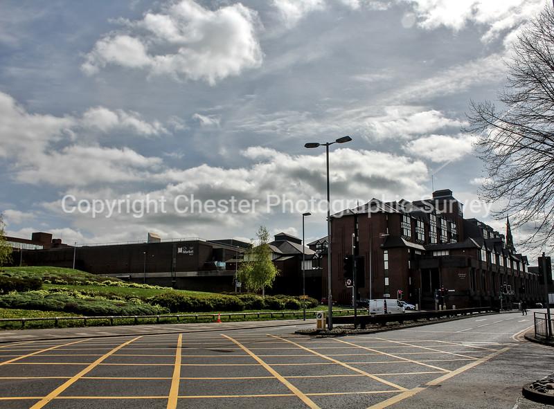 New Hotel site: Hunter Street and Crowne Plaza Hotel: Trinity Street