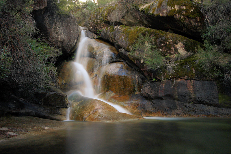 Ladies Bath Falls, Eurobin Creek.