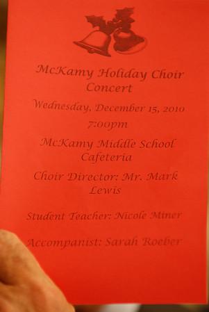 McKamy Holiday Choir: Mark Lewis