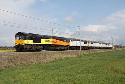 Class 66 Colas Rail freight