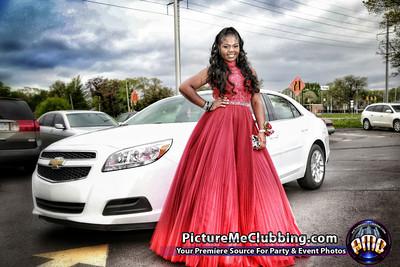 Prom Shoot for Avyonne Wilson