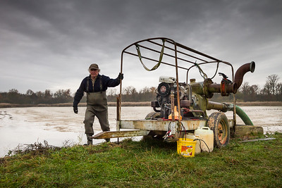 Pêche dans la Dombes