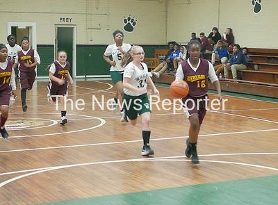 Acme-Delco at Evergreen basketball