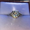 1.88ctw Platinum Filigree Solitaire Ring by C.D. Peacock, GIA S-T, VS 29