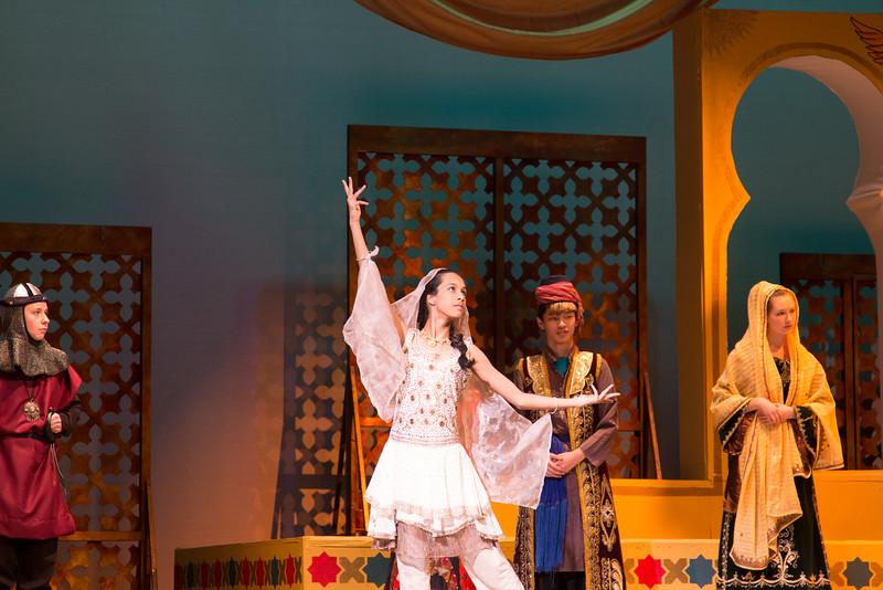 Princess Samahris -- Kismet, Montgomery Blair High School spring musical, April 15, 2016 performance (Silver Spring, MD)