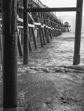 San Clemente Pier Sunset - 6/28/2017