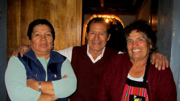 Sacred Valley - Home Stay Meal