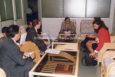 1995 - LAWATAN DARI PERANCIS KE IBU PEJABAT