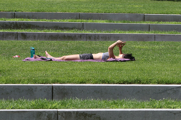 Boarding House Park sunbather 071120