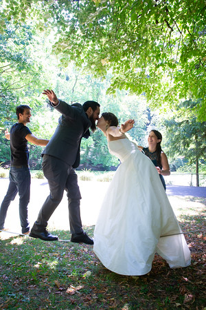 Friedrike & Kevin, Laurelhurst Park, Aug. 23