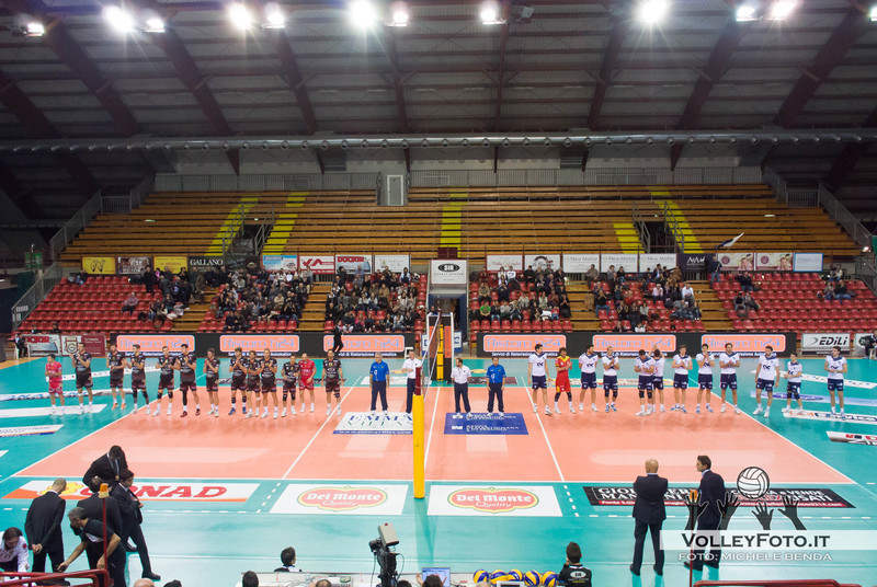 Presentazione squadre Sir Safety PERUGIA vs CMC RAVENNA  9ª Giornata andata, Campionato Italiano di Volley Maschile, Serie A1 - 2012/13