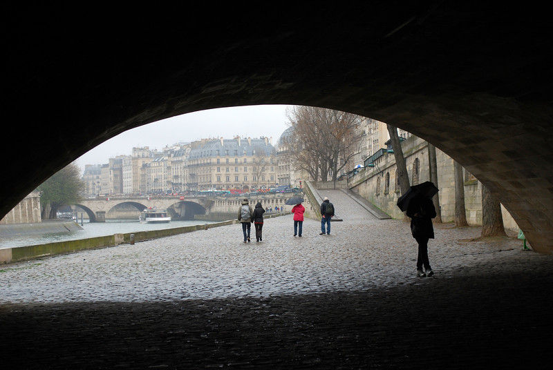 Last day in Paris, walking the banks of the Seine
