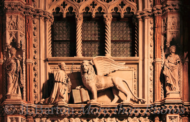 Detail from St. Mark's Cathedral