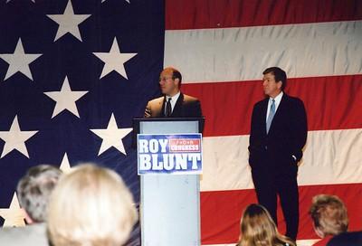 9-5-2002 Cong. Roy Blunt Fundraiser w/ Ari Fleisher