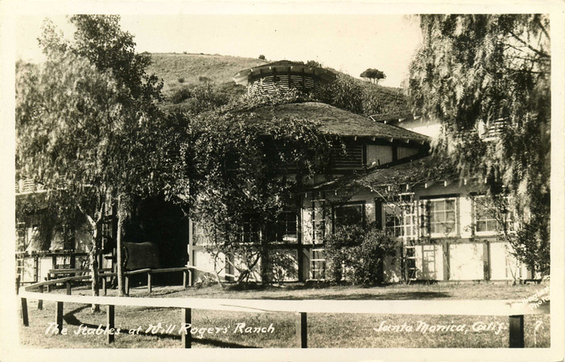 Will Rogers' Ranch Stables