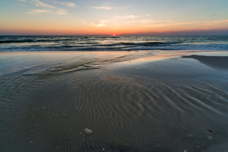 Cape San Blas Beach at Sunset