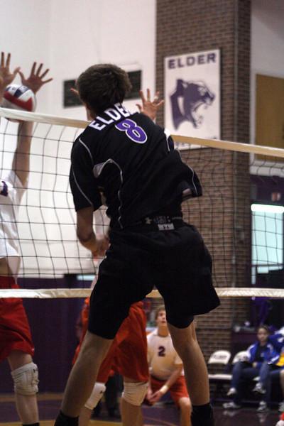 2010 Varsity Volleyball vs. Dayton Carroll