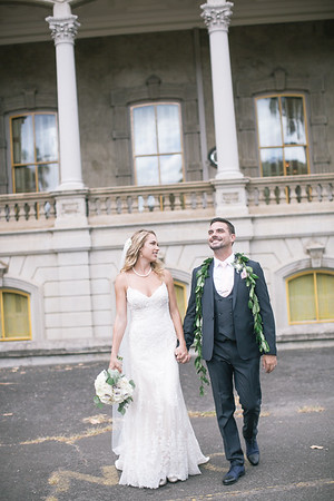 Shayla and Matt's Wedding at Iolani Palace Honolulu, HI
