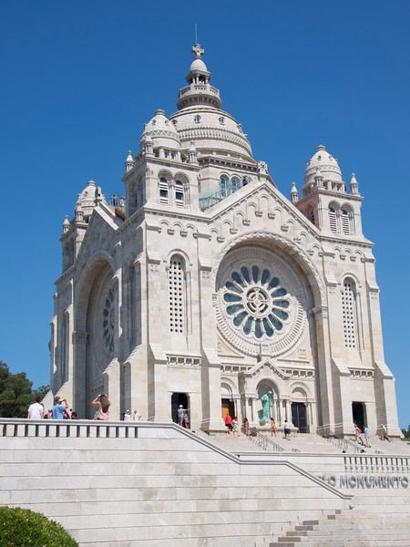 20180818 Portugal, Viana do Castelo Templo de Santa Luzia