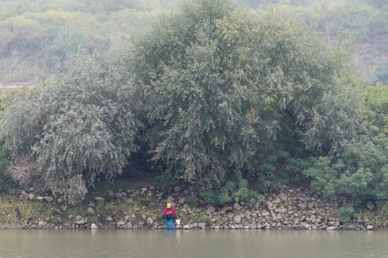 Po River - Borgo Virgilio, Mantova, Italy - October 15, 2016