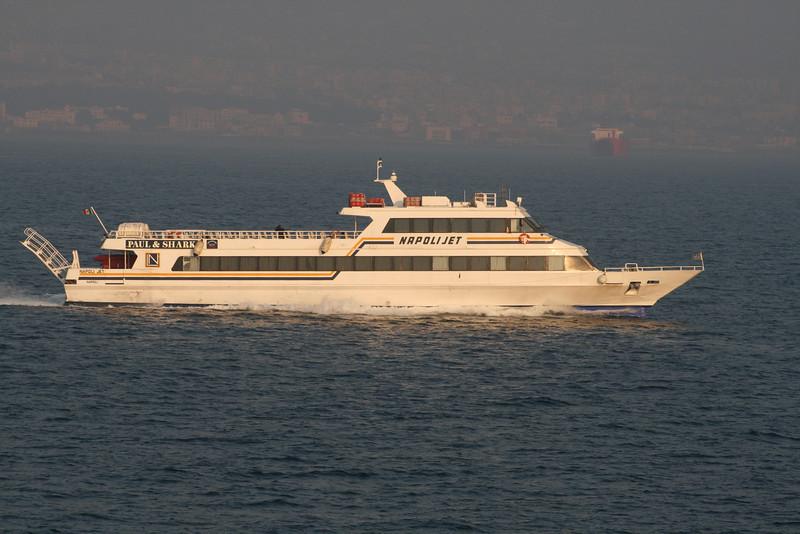 2008 - NAPOLI JET at sea.