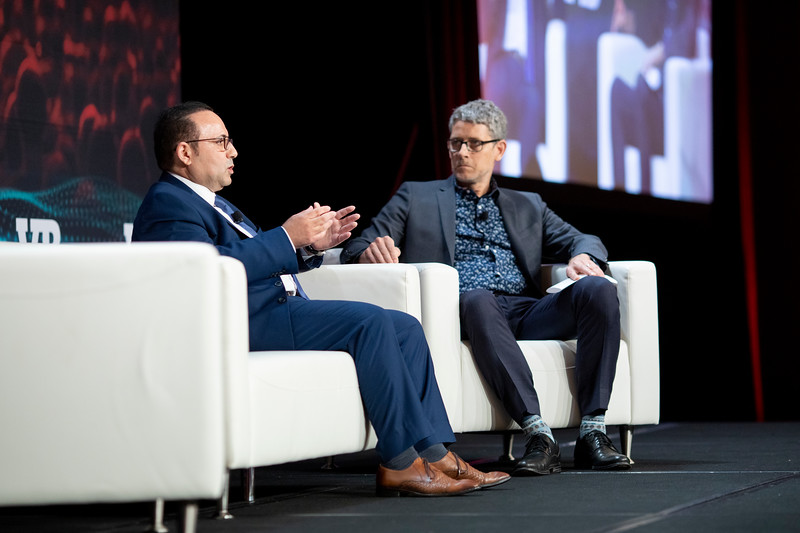 #VBTransform @VentureBeat  AJ Abdallat, CEO, Beyond Limits  Moderator: Matt Marshall, Founder & CEO, VentureBeat  Fireside Chat