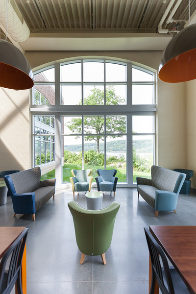 The Egg in the new Student Commons.