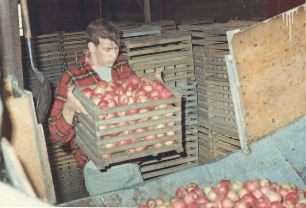 . Yates Cider Mill in 1966.   Photos courtesy of Yates Cider Mill