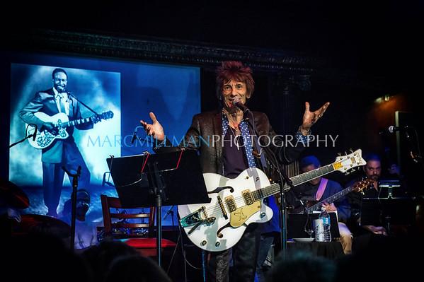 Ron Wood & Mick Taylor @ Cutting Room (Fri 11/8/13)