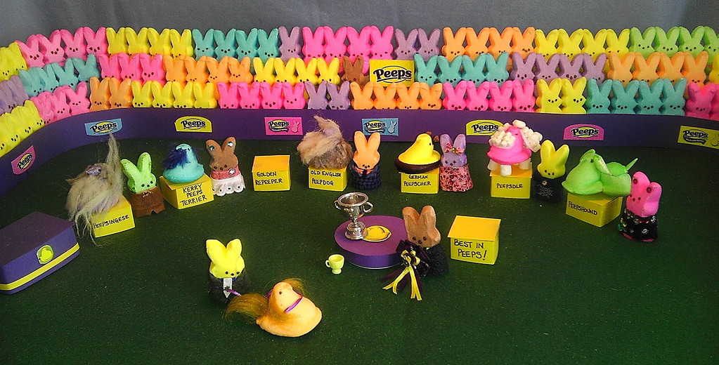 ". ""Westminster Peeps Show: Best in Peeps,\"" by Alison O\'Connor, Windsor, Colo."