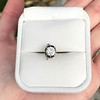 .90ct Late Victorian Antique Cushion Cut Collet Component 11