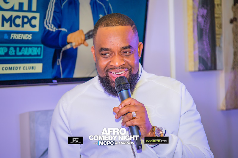AFRO COMEDY CLUB WITH MCPC 1
