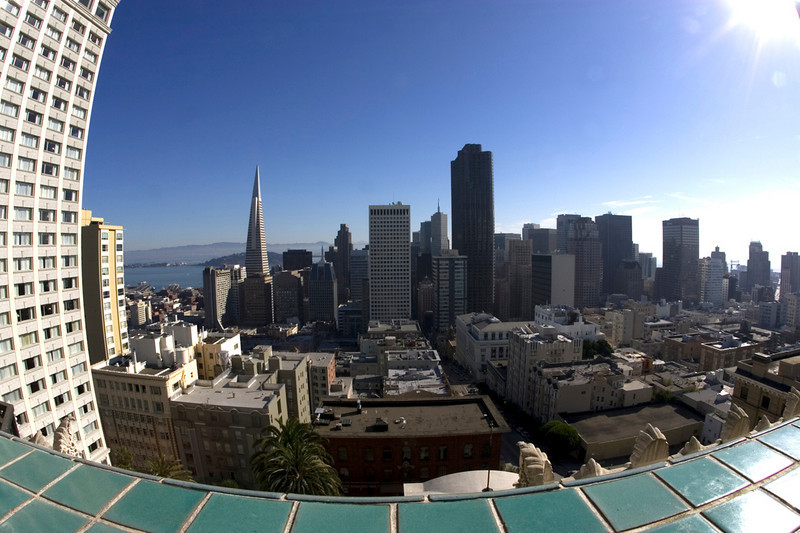 View from the Fairmont