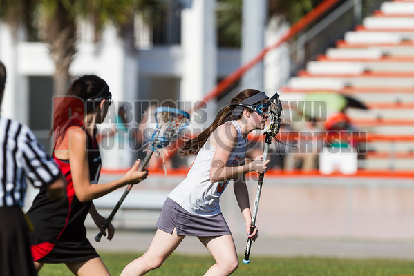Lake Mary Rams @ Boone Braves Girls Varsity Lacrosse - 2015