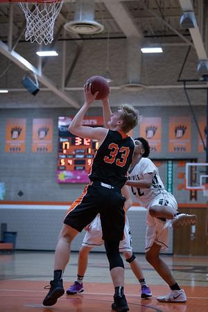 WBL Boys JV Basketball -V- Roseville