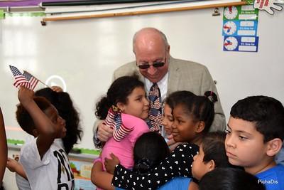 Mayor Don Ryan Visits David Patterson School (M. Pineda Class) - June 14,2017