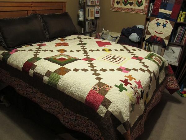 11.17.12 Carolyn's Quilt