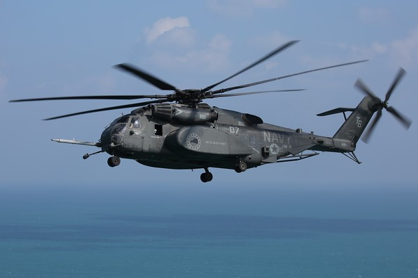 "US Navy MH-53E ""Sea Dragon"", Arabian Gulf, 20Dec20"