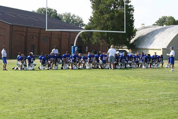 Prep Football vs. Central H.S. Scrimmage