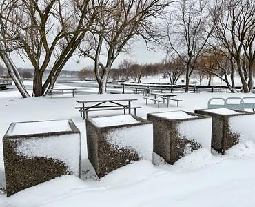 A Winter Walk @ Bayfront Park