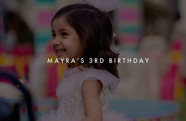 Mayra's 3rd Birthday | Oct'19
