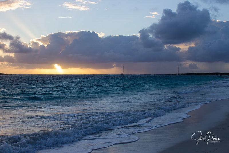 Orient Beach Sunrise