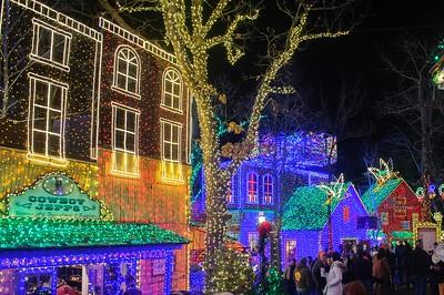 2018 12 12 Silver Dollar City Christmas Lights